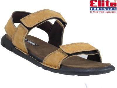 Elite Men Beige Sandals