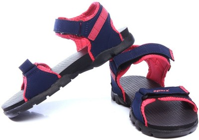 Sparx Women Navy, Blue, Pink Sports Sandals