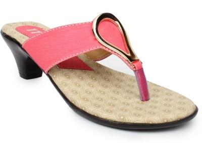 11e Women Pink Heels