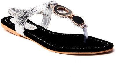 Laila Collection Women Black Flats