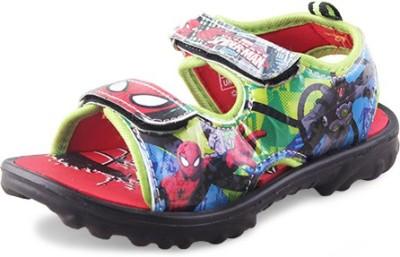 Spiderman Boys Green Sandals