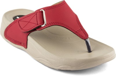 Theme United Women Red Wedges