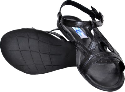 Drunk Tree Women Black Flats