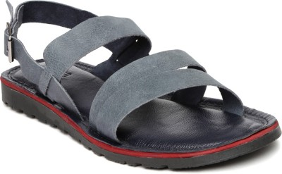 Harvard Men Navy Sandals at flipkart