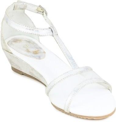 Gaiety Women Silver Wedges