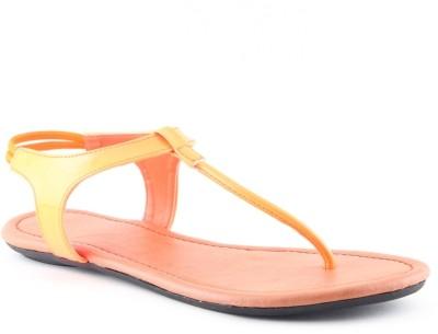 Cenizas JU14 Women Orange Flats