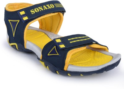 Sonaxo Men Blue Sandals