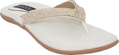 Footsy Women Silver Flats