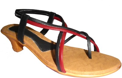 Om Overseas Women Black Heels