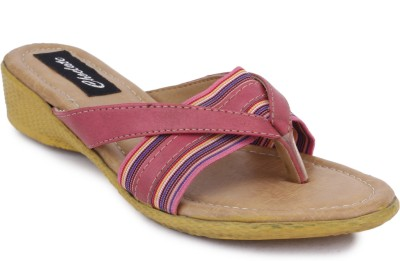 Choclate Women Pink Flats