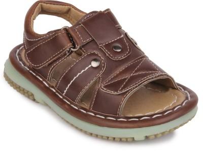 Action Shoes Boys Brown Sandals