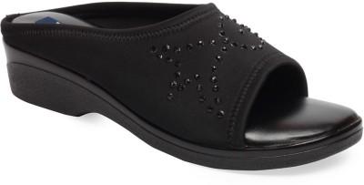 La Zilver Women Black Heels