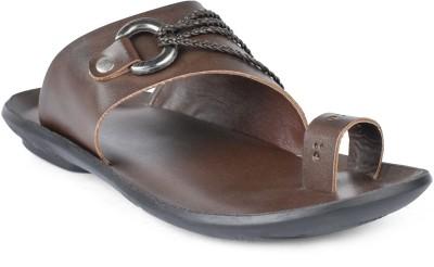 Foot n Style Men Brown Sandals