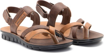 Provogue Men Brown, Tan Sandals
