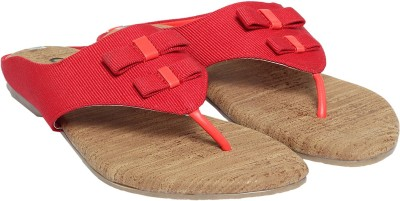 Cocoon Women Red Flats