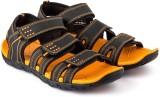 Corpus Men Black::Orange Sandals