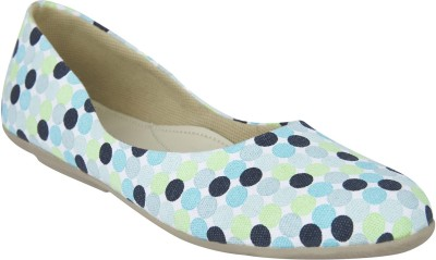 CHICOPEE Women Blue Flats