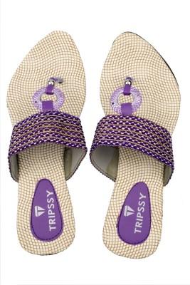 Tripssy Women Purple Heels