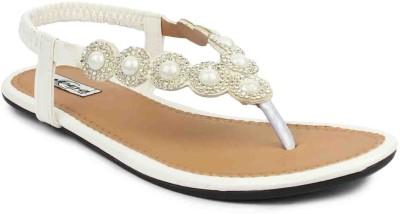 ADDO Women White Flats