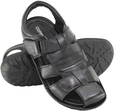 Copper C-7300 Men Black Sandals