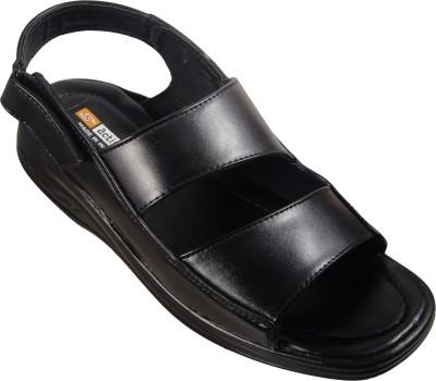 Action Men Black Sandals
