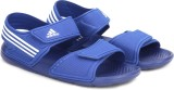 Adidas Men CROYAL/FTWWHT/CROYAL Sports S...