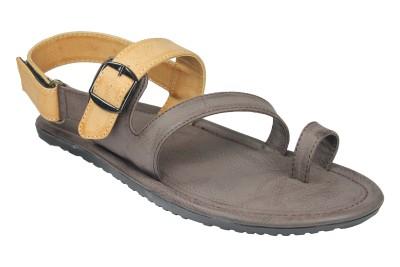 Leatherworld Men Brown Sandals