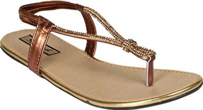 Sporch Women Brown Flats
