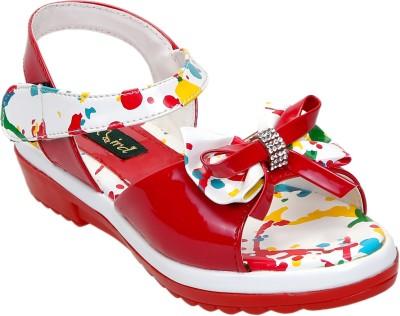 CATBIRD Girls Red Sports Sandals