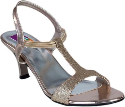 Tycoon Women Gold Heels