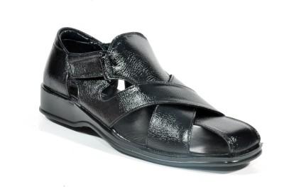 Kohinoor Sandal Magic Men Black Sandals