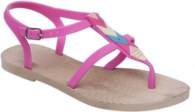 Fab Fashion Women Pink Flats