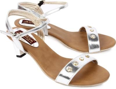 Ananya Women Silver Heels