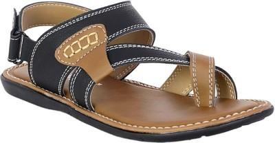 VOLO Men Black, Brown Sandals