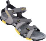 Vestire Men Grey Sandals