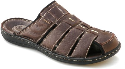 Footgraphy Men Brown Sandals