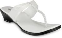 Style Feet Women White Flats