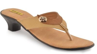 indirang Women Brown Heels