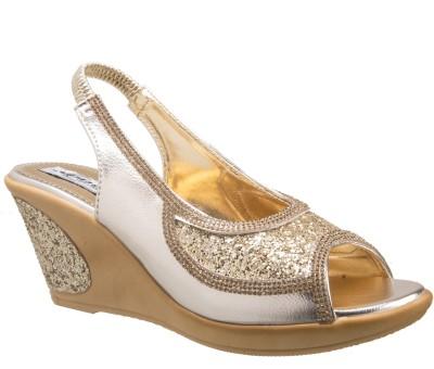 ADDO Women Gold Wedges