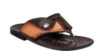 JK PORT Men Brown, Tan Sandals