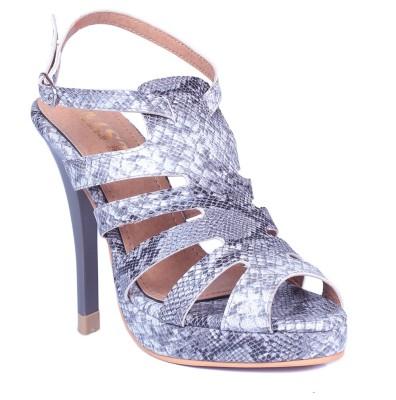 Gnist Women Grey Heels