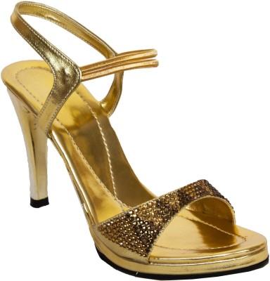 Rialto Women Gold Heels