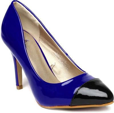 Mast & Harbour Women Blue Heels
