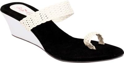 Party Girl Women White Heels