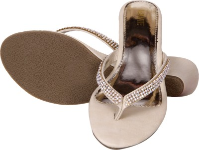 Lavie Women Beige Wedges at flipkart