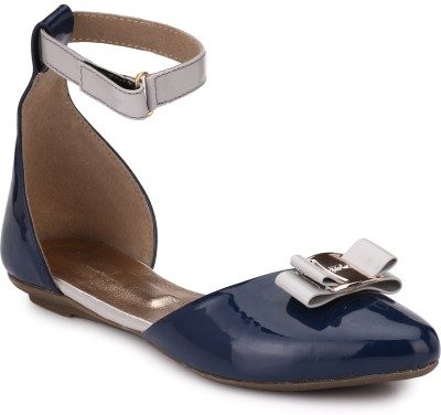 Koyka Women Blue Flats