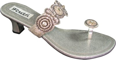 Faith 1000248 Women Grey Heels