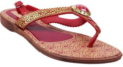 AALISHAN Women Red Flats