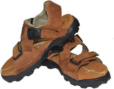 Tim Land Men Khaki Sandals