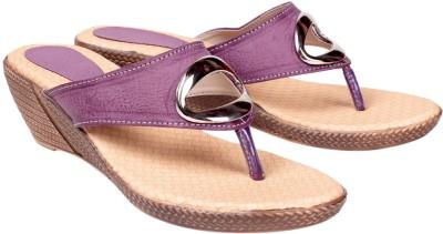 Engross Women Purple Wedges